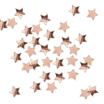 Rose Gold Star Party Table Confetti